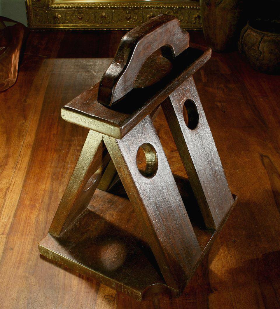 Weinst nder weinregal massiv rustikal sehr dekorativ ebay - Weinregal rustikal ...