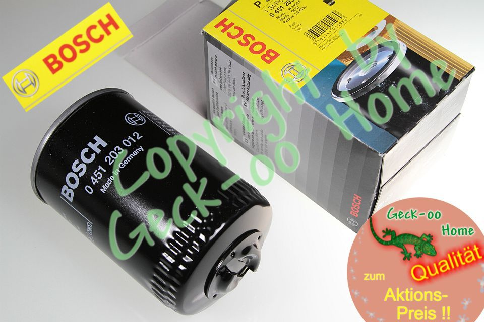 3x ÖLFILTER Original BOSCH Made in Germany VW PASSAT 32//B 35i 3A2 3A5 2//77-5//97